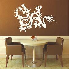 Chinesische Drachen Wandtattoo  Asien China Drache Wandaufkleber Deko Dragon2