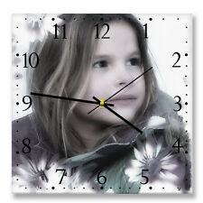 Personalizzato quadrato Orologio da parete con la tua foto o immagine. la propria scelta di Dial