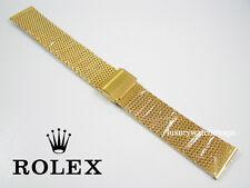 Acero Chapado en Oro Reloj Correa Para Rolex Submariner fecha sólo Yacht Master 20mm