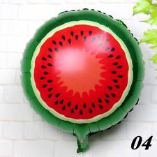 "18"" Watermelon Fruit Design Foil Balloon Helium Birthday Party Decor kids toy"