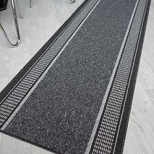 robuste Tapis Tim ELBA anthracite 67 cm de largeur ANTIDÉRAPANT