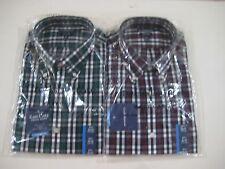 Croft&Barrow Classic Fit Easy Care Plaids & Checks Button Down Men's Shirt $45