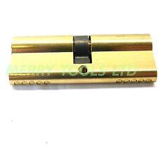 Replacement Euro Cylinder Lock Barrel UPVC Doors 60mm 70mm 80mm 90mm 3 Keys
