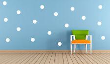 20 x Polka Dots, Spot vinyl Stickers Decal Mural, Crafting Wall Mirror Window