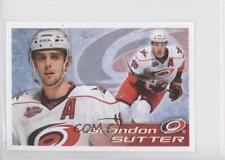 2011-12 Panini Album Stickers #59 Brandon Sutter Carolina Hurricanes Hockey Card