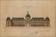 Poster, Many Sizes; Palace Of Commerce By Jean-Baptiste Martenot, 1885