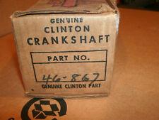 vintage old Clinton gas engine lawn mower crankshaft rebuild part new old stock