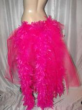 Big Pink Flamingo Burlesque Layer Bustle Belt Feathers Carnival Pride Bustle