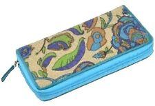 Womens Canvas Floral Print Purse Handbag Card Holder Slim Wallet Ladies Bag