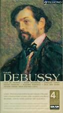 DEBUSSY LA MER IMAGES PRELUDES ETUDES 4 CD SET E1572