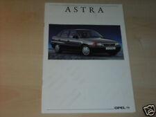 11604) Opel Astra sth Austria folleto 1992