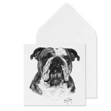 Licensed Mike Sibley Dog Print Blank Greeting Card