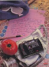 PUBLICITE ADVERTISING  1983  PENTAX appareil photo PC35