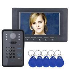 RFID Password Video Intercom Doorbell Door Phone IR Camera 1000 TV Line System