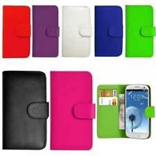 Cartera libro funda Samsung Galaxy teléfonos gratis cristal Protector de cuero del tirón