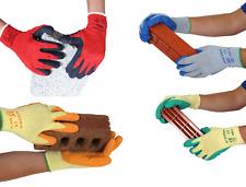 10 x UCI AceGrip® General Purpose Work Protective Gloves Latex Coating EN388