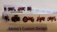 Grosgrain Ribbon Massey Ferguson Farm Tractors Red Tractor Barn Farming Animals