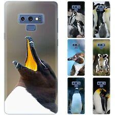 dessana Pinguine Silikon Schutz Hülle Case Handy Tasche Cover für Samsung Galaxy