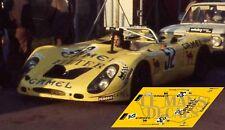 Calcas Porsche 908 02 Le Mans 1973 52 1:32 1:43 1:24 1:18 908/02 decals