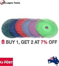 "Radial Bristle Disc 3""  6 pcs set Radial bristle + Plastic Hub, Radial Brush"