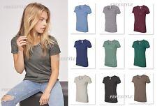 American Apparel - Women's Triblend Short Sleeve Tee Track T-Shirt - TR301W