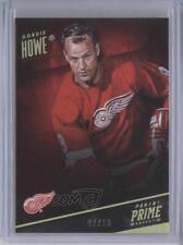 2013-14 Panini Prime Holo Gold #33 Gordie Howe Detroit Red Wings Hockey Card