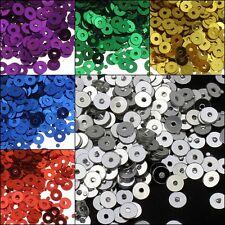 Pailletten Glatt Perlen  Ø  3 ~ 4mm Schmuck Kleidung 1200 ~ 2400stk Farbauswahl