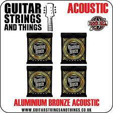 Ernie Ball ALUMINUM BRONZE Acoustic Guitar Strings