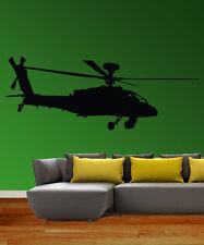 Apache helicopter Vinilo Arte Pared sticker/decal/mural cool room Decoración