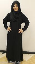 Donne Bellissimo Elegant Islamico Indossare L'abaya Jilbab Hijab Mussulmano