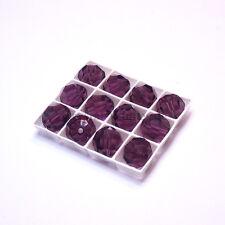 Amethyst (204) Swarovski Elements 5000 Crystal Round Beads 4mm 6mm 8mm