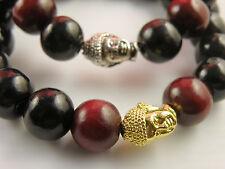 "Unisex Bracelets Buddah Gold or Silver Tone Pendant Charm Size 7"" or 8"""