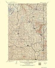 Topographical Map - Oakesdale Washington, Idaho Quad - USGS 1903 - 23 x 28.25
