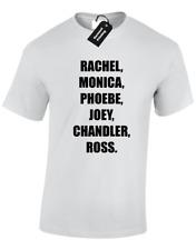 Rachel, Monica Hommes T Shirt drôle amis Design Central Perk Joey Phoebe Ross