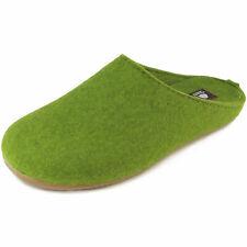 Haflinger Everest Fundus Damen Hauspantoffeln grasgrün