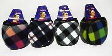 Winter Men Women Youth multicol soft Fleece Earband earwarmers Earmuffs earwrap