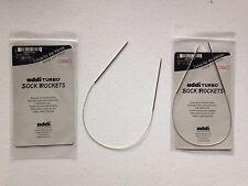 addi Turbo Sock Rockets 16 inch (40 cm) Circular Knitting Needles Skacel USA