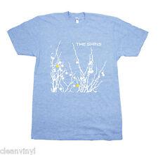 SHINS Oh invertido Mundo Camiseta azul NUEVO SUB POP AGOTADO