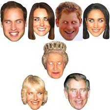 Royal Family Wedding Prince Harry & Meghan Markle Celebrity Party Face Masks