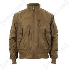 US Tactical Flight Jacket - Coyote - Men's Coat American Military All Sizes New
