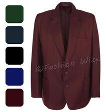 1634a0b144b Girls School Blazer Jacket Uniform Black Royal Blue Brown Green  Burgundy Maroon