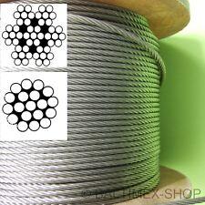 1MM / 1,5MM A4 Câble en Fils D'Acier Inoxydable V4a Corde Acier Câbles Inox