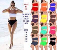 New Womens Bandage Crop Bikini Set Push-up Swimsuit Bathing Swimwear Sexy Suit