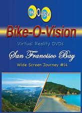"Bike-O-Vision Cycling Video, ""San Francisco Bay"" Widescreen DVD"