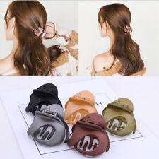 1pcs Women Girls Irregular Acrylic Hair Clip Barrette Crab Clamp Hair Pins Claw