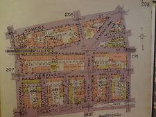 Orig 1929 Brooklyn Brownsville Ocean Hill Nyc Map 1