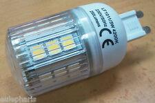 Bombilla G9, 20 LED SMD 160º 3W, LUZ BLANCA 4200K ClaseA, Bajo Consumo