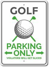 Golfer Gift, Golfing Sign, Golf Parking Aluminum Sign ENSA1010062