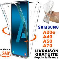 Housse Etui Coque integrale 360° Pour Samsung Galaxy A50/A40/A20e/A10/A70/A80