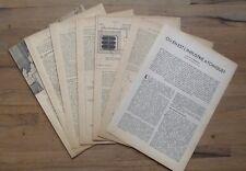 Article presse,photos,Ou en est l'industrie atomique  1948 ,Nahmias M-E.